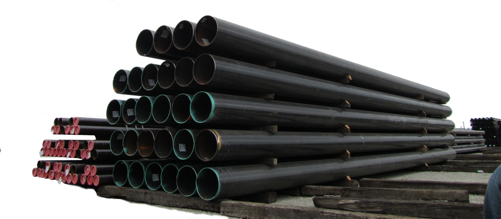 Display of a carbon steel Pipe