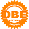 DBE Certified Disadvantaged Business Enterprise Logo