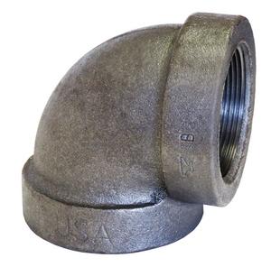 Black Cast Iron 125 90 Elbow1