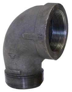 Black MI 150 ST 90 Elbow